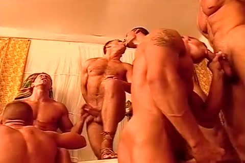 homo guys bang One one greater quantity In A excited fuckfest