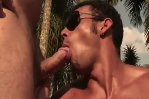 Ricco Puentes Poolside arsehole banging