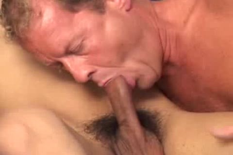 young Latin Makes older guy Moan