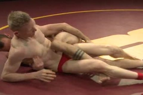 homo dudes Wrestling And nailing After Match