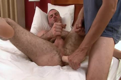 engulfing And nailing bushy twink