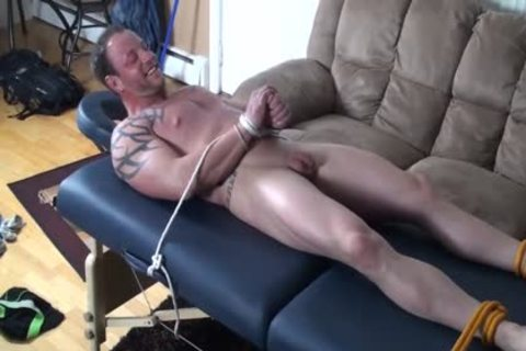gigantic Bodybuilder fastened And Tickled - Wesley metallic