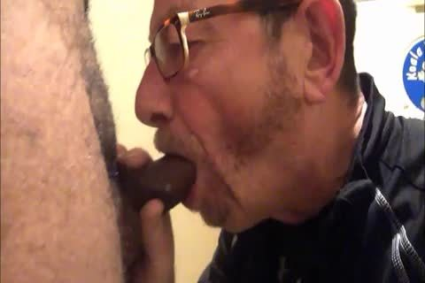 Daddy Meets A delightsome 18yo Bull On CraigsList.  They Meet In The Hotel's baths Where Daddy Sucks Then receives poked.  Finishes Off His Hung babe Swallowing His palatable sperm Then His lad Gives Daddy His last Treat By Pissing Down His throat
