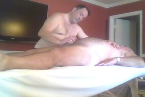 large Bear Asked For A Massage And A Prostate Massage.