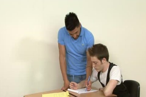 homo Students hammering In The Classroom