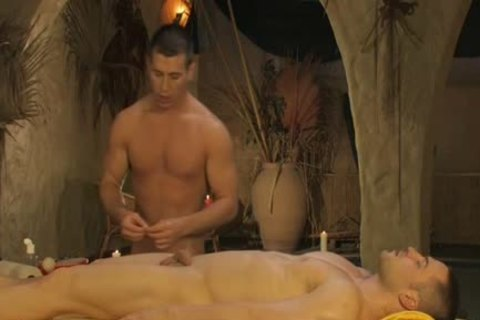 naughty young Gaywads Have An Oily butt Fingering Massage