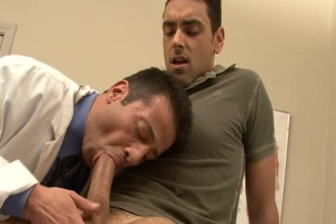 excited Doctor receives Nailed By His homo Patient At Work