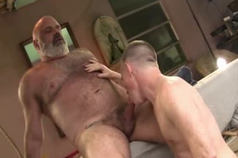 men With Great dong plow valuable Daddy Bear