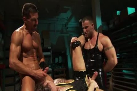 fastened Muscly man Fisted