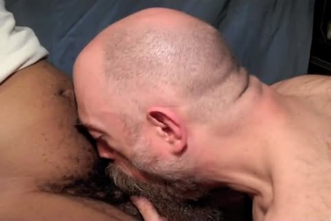 A admirable Slurpy Ball-fondling suck To Relieve Him Of A Four-day Load.