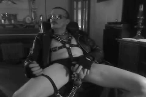 one greater amount Horned Up Smoking Ball Stretching Session In My Leather Gear And Boots. With My fastened Up penis And Stretched Balls On A Leash!!!