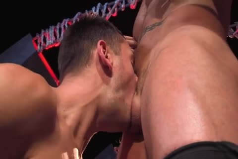 Austin Wolf  Uses Brenner's mouth & booty