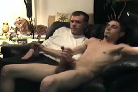 Jacking Off With Straight guy Cory