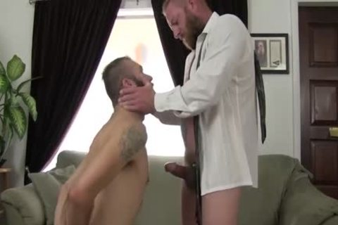Hard homosexual Businessman Plants His 10-Pounder In A guy