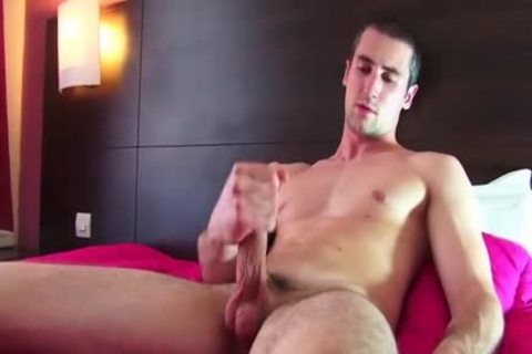 A handsome blameless str8 lad Serviced His gigantic 10-Pounder By A lad In Spite Of Him!