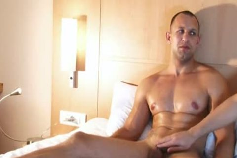 Full movie scene: A admirable innocent straight lad Serviced His large rod By A lad