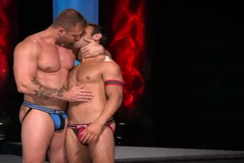 Dorian Ferro And Austin Wolf In Fire And Ice