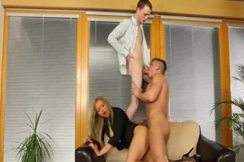 sleazy Bisexuals fucking With A blond