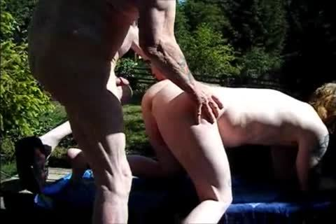 young Redhead bareback With older man