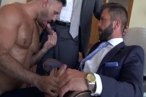 Muscle homo threesome And ball batter flow
