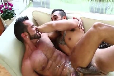Latin gay butthole job With cock juice flow