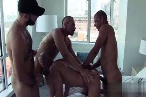Latin ramrod Interracial With cumshot