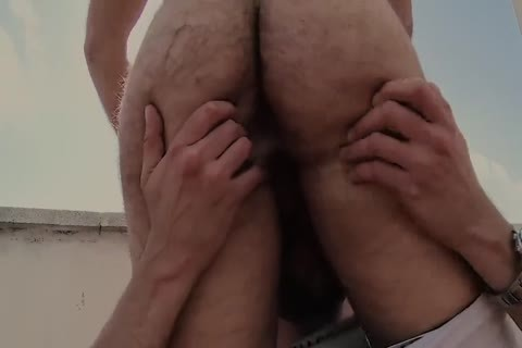 Roof lascivious hairy homosexual Sex