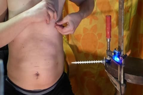 hammering Turn Notched knob Machine Urethra cum Camera 1
