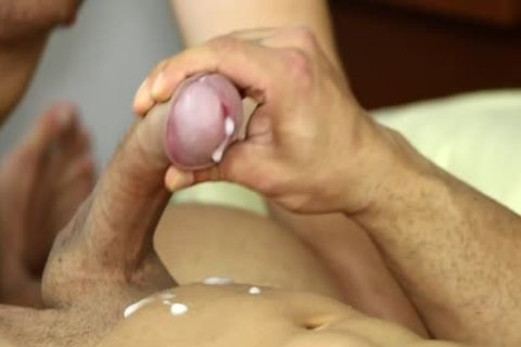 Muscle homo oral joy job And cumshot