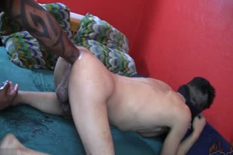 gorgeous homo Fetish With cumshot