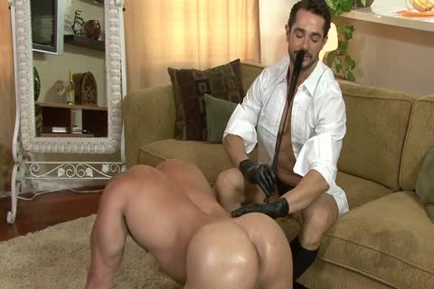 charming lad On All Fours Used By Other lad In Gloves