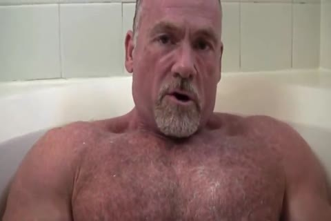 tasty Muscle Daddy Mikey Shower jack off   cum
