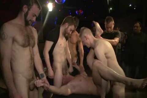 Muscle homo tied And spunk flow