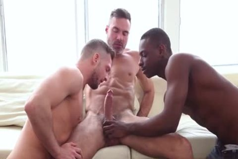 enormous penis Son threesome With ejaculation