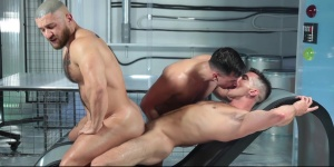 anal Abduction - Francois Sagat with Lukas Daken a-hole Hook up