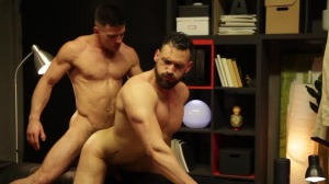 HomoPod - Paddy O'Brian with Enzo Rimenez anal Licking Hump