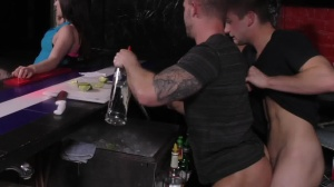 First Date bang - Johnny Rapid and Jake Ashford butthole Nail
