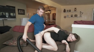 Getting A VJ - Connor Maguire & Jacob Peterson gigantic dick bang