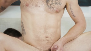 dude, you're nude - Noah Jones with Jay Austin hirsute Sex