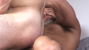 Stepdick - Dirk Caber & Vincent Diaz gigantic wang slam