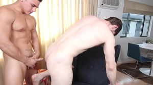 The Married Bottom - Dennis West & Topher Di Maggio ass Nail
