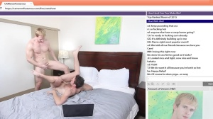 The Chat Room - Cameron Foster with Brandon Moore butthole nail