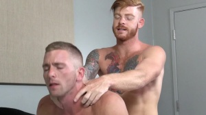 Straight chap's skank - Bennett Anthony & Scott Riley ass plow