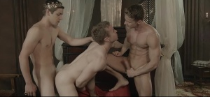gay Of Thrones - Johnny Rapid and Gabriel Cross ass job