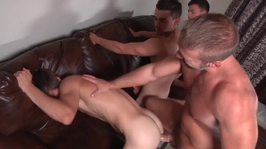 Stepfather's Secret - Dirk Caber with Johnny Rapid ass Hump
