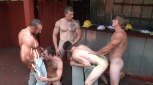 Daddy's Workplace - Brad Kalvo, Tom Faulk butthole Hump