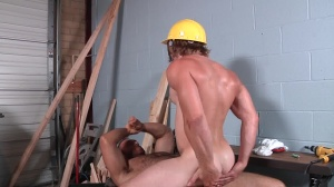 Daddy's Workplace - Brad Kalvo and Tom Faulk butthole fuck