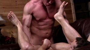 Aaron's First Time - Aaron Anderson & Liam Rosso ass Nail