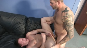 cock juice Bank - Colby Jansen with Travis James ass Nail