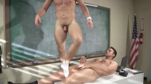 Hazing Bust - Rocco Reed & Joey Cooper butthole Love